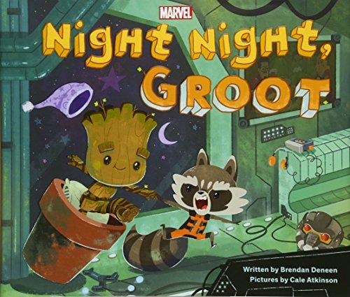 Night Night, Groot By Brendan Deneen