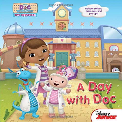 Doc McStuffins a Day with Doc By Disney Book Group