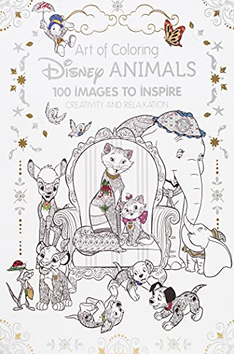 Art Therapy: Disney Animals By Catherine Saunier-Talec