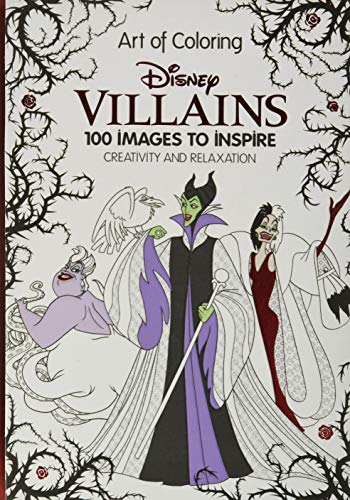 Art of Coloring: Disney Villains By Dbg