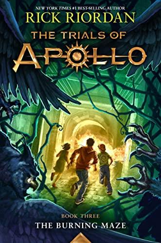 The Trials of Apollo: The Burning Maze von Rick Riordan