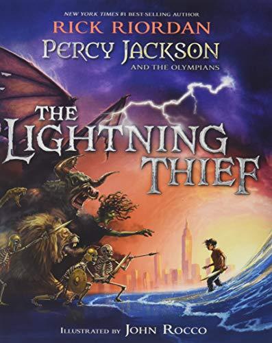 Percy Jackson and the Olympians the Lightning Thief von Rick Riordan