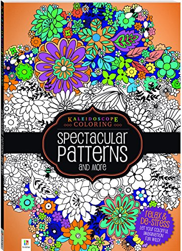 Kaleidoscope Coloring Spectacular Patterns By Hinkler Books
