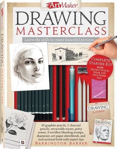 Art Maker Drawing Masterclass Kit (portrait) By Barrington Barber