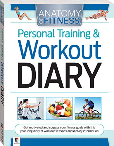 Anatomy of Fitness Personal Training and Workout Diary (pape By Hinkler Books Hinkler Books