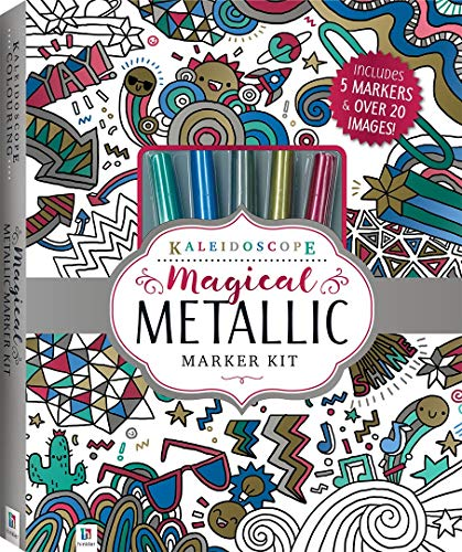 Kaleidoscope Magical Metallic Marker Kit