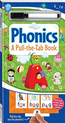 Pull-the-Tab Phonics (2019 Ed) By Hinkler Books Hinkler Books