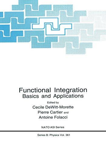 Functional Integration By Cecile Dewitt-Morette