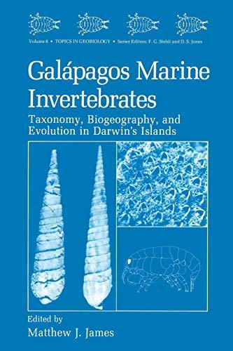Galapagos Marine Invertebrates By Matthew J. James