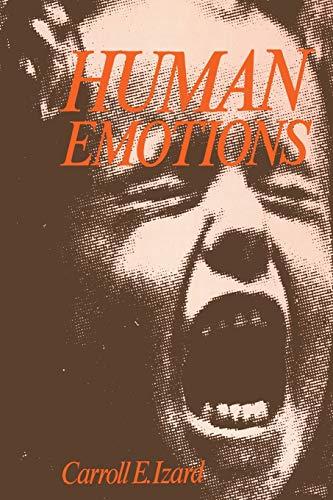 Human Emotions By Carroll E. Izard