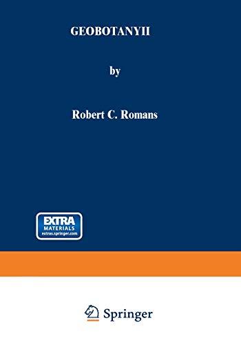 Geobotany II By Robert C. Romans