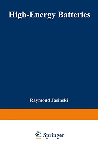 High-Energy Batteries By Raymond Jasinski