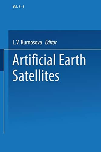 Artificial Earth Satellites By L. V. Kurnosova