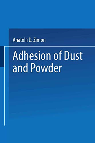 Adhesion of Dust and Powder By Anatolii Davydovich Zimon