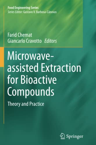 Microwave-assisted Extraction for Bioactive Compounds By Farid Chemat