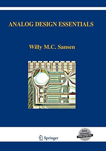 Analog Design Essentials By Willy M Sansen