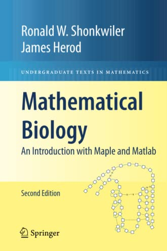 Mathematical Biology By Ronald W. Shonkwiler