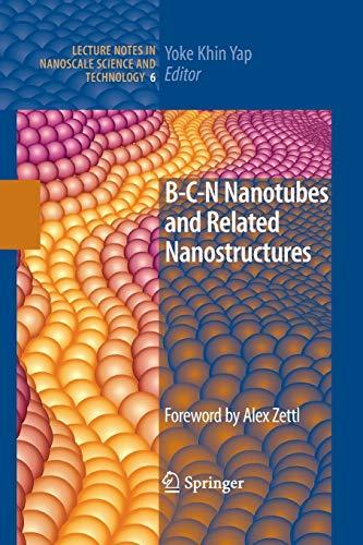 B-C-N Nanotubes and Related Nanostructures By Yoke Khin Yap