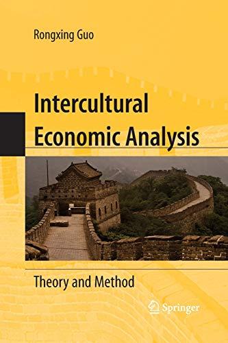 Intercultural Economic Analysis By Rongxing Guo