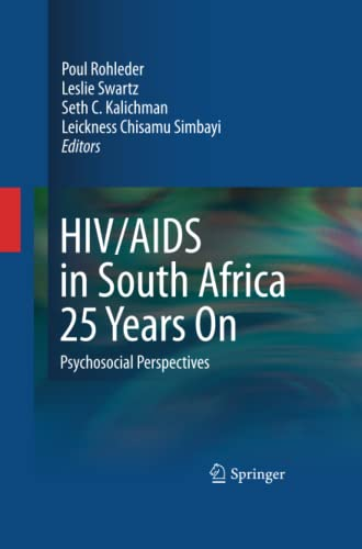 HIV/AIDS in South Africa 25 Years On By Poul Rohleder