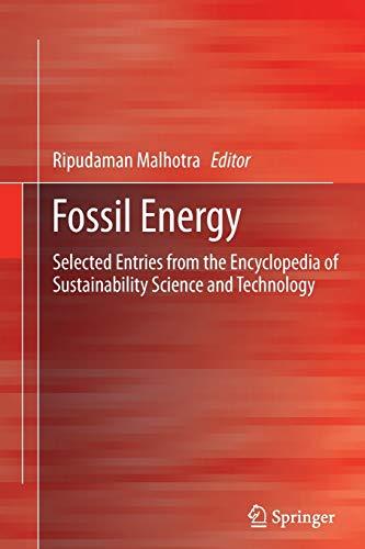 Fossil Energy By Ripudaman Malhotra