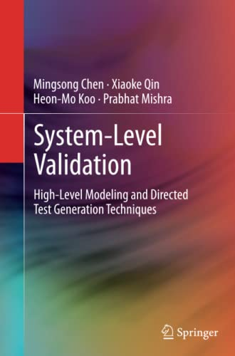 System-Level Validation By Mingsong Chen