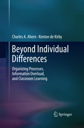 Beyond Individual Differences By Charles A. Ahern