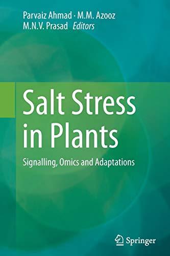 Salt Stress in Plants By Parvaiz Ahmad