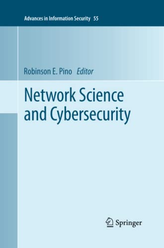 Network Science and Cybersecurity By Robinson E. Pino