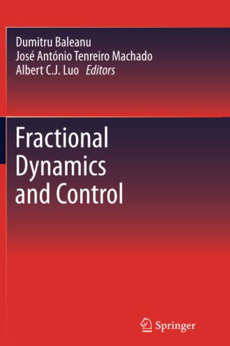 Fractional Dynamics and Control By Dumitru Baleanu