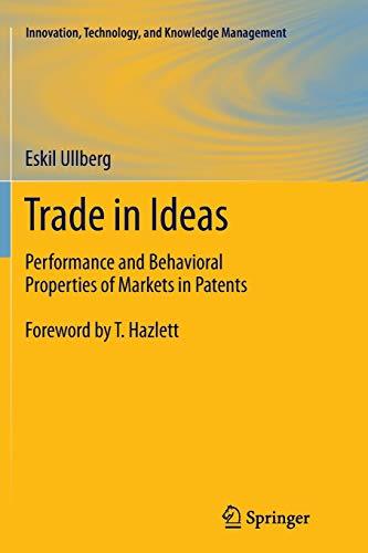 Trade in Ideas By Eskil Ullberg