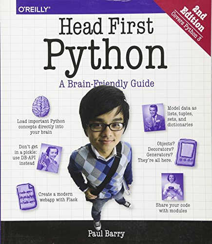 Head First Python 2e By Paul Barry