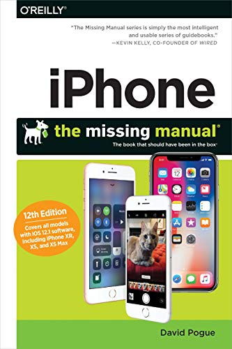 Iphone: The Missing Manual By Pogue