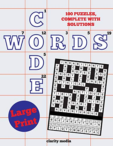 Large Print Code Words By Clarity Media