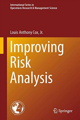 Improving Risk Analysis By Louis Anthony Cox Jr.
