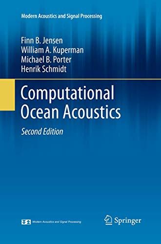Computational Ocean Acoustics By Finn B. Jensen