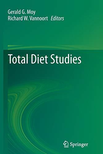 Total Diet Studies By Gerald G. Moy