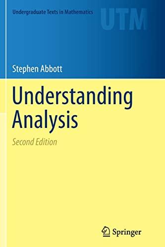 Understanding Analysis By Stephen Abbott