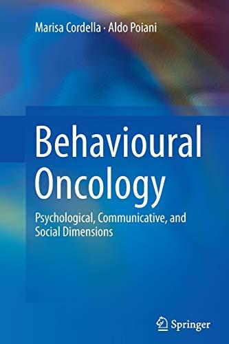 Behavioural Oncology By Marisa Cordella