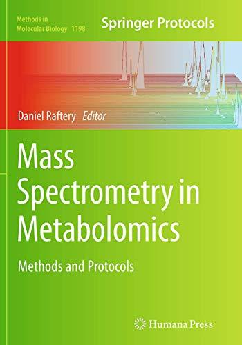 Mass Spectrometry in Metabolomics By Daniel Raftery