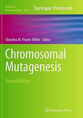 Chromosomal Mutagenesis By Shondra M. Pruett-Miller