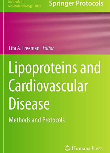 Lipoproteins and Cardiovascular Disease By Lita A. Freeman
