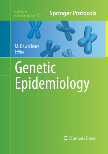 Genetic Epidemiology By M. Dawn Teare