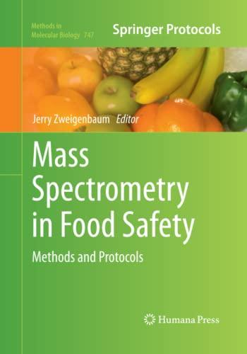 Mass Spectrometry in Food Safety By Jerry Zweigenbaum