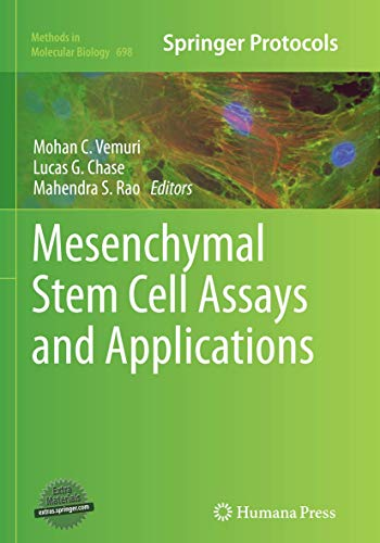 Mesenchymal Stem Cell Assays and Applications By Mohan C Vemuri