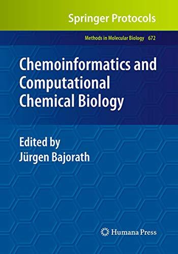 Chemoinformatics and Computational Chemical Biology By Jurgen Bajorath