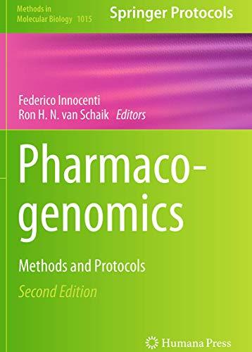 Pharmacogenomics By Federico Innocenti