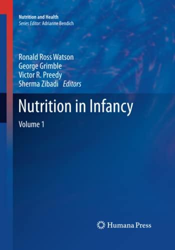 Nutrition in Infancy By Ronald Ross Watson
