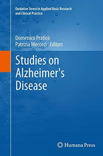 Studies on Alzheimer's Disease By Domenico Pratic