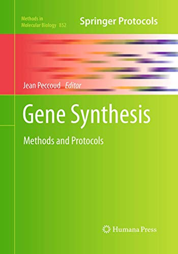 Gene Synthesis By Jean Peccoud